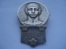 V. RARE OLYMPISKA SPELEN STOCKHOLM 1912 SWEDISH OLYMPIC GAMES COMPETITORS BADGE