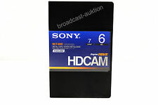 SONY HDCAM Tape BCT-6HD  new