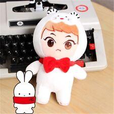 Kpop EXO Plush XIUMIN KimMinseok White Animal Mouse Soft Doll Toy