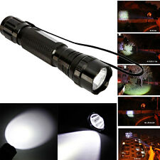 New 1000Lumen T6 5W XML T6 LED 5 Mode Flashlight Torch Lamp for Camping Hiking