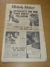 MELODY MAKER 1955 JULY 30 SKYROCKETS ROSEMARY CLOONEY TONY CROMBIE VIC ASH +