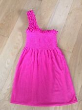 Lady Authentic Genuine Juicy Couture Dress Pink Cotton Size S RRP £165