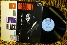 Dick Gregory In Living Black & White LP Colpix CP 417 Alex Dreier