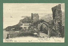EARLY 1900'S POSTCARD - HASTINGS CASTLE, SUSSEX - UNDIVIDED BACK