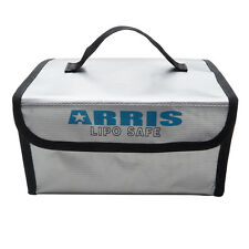 ARRIS RC Lipo Battery Safety Bag 215 x 160 x 115mm Fireproof for Safe Charging