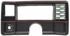78 88 Monte Carlo SS El Camino Dash Face Plate Black with red stripes