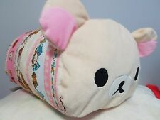 "Rilakkuma Plush Stuffed Animal Toy 16"" Pillow San-X - Brand New"