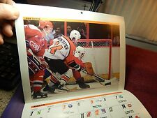 Vintage 1986 Philadelphia Flyers Team Calendar NHL Hockey UNUSED Many Pictures
