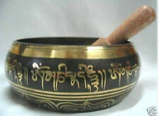 Tibet Beautiful Antique Tibetan Buddhism Cuprum Mantra Singing Bowl
