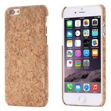 Apple iPhone 6 6S (4,7) CORCHO FUNDA MADERA NATURAL HARD CASE CASO COVER CAJA