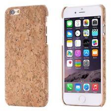 Apple iPhone 6 6S (4,7) CORCHO FUNDA MADERA NATURAL HARD CASE CASO COVER CAJA