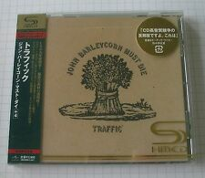 Traffic-John Barleycorn must les Japon shm CD OBI nouveau! uicy - 90772