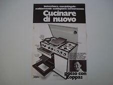 advertising Pubblicità 1973 CUCINA ZOPPAS