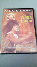 "DVD ""LA FURIA DE CHICAGO"" PRECINTADA JACKIE CHAN ROBERT CLOUSE BATTLE CREEK BRAW"