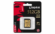 Kingston Professional 512GB UHS-I SDHC SDXC Flash Card (Class 10) SDA10/512GB
