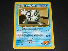 Pokemon Gym Heroes Set UN-COMMON Misty's Poliwhirl 53/132 - NM/M Condition