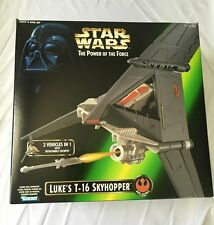 Star Wars Power Of The Force Luke's T-16 Skyhopper Vehicle 1996 Hasbro MISB