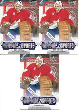 RON HEXTALL TEAM CANADA 2011 UPPER DECK WORLD OF SPORTS #162 NICE (3) CARD LOT