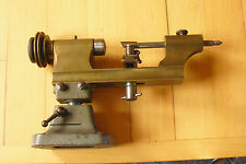 Rare Brass Watchmaker Lathe with foot , Uhrmacher Drehbank, Collectors item.