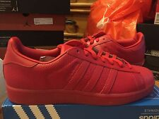 ADIDAS ORIGINALS ADICOLOR SUPERSTAR RED S80326 SIZE 11.5