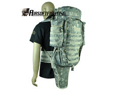 Airsoft Tactical Military Molle Extended Full Gear Dual Rifle Combo Backpack ACU