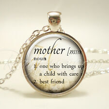 Mother Necklace, Gifts For Mom, Mother's Day Jewelry, Mommy Pendant (1965S1IN)