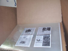 50 PCS  32 x 42  ACID FREE ART POSTER PRINT ARCHIVAL STORAGE CELLOPHANE ENVELOPE