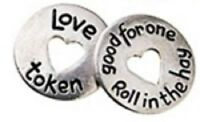 Love - Good for one Roll in the Hay Pocket Token - set of 2