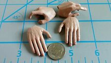 DID WWII Red Army sniper Koulikov hands 2 sets 1/6 toys soviet Russian 3R bendy