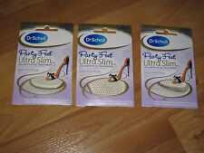 Scholl Party Feet Ultra Slim Invisible Gel Cushions - THREE PAIRS - Free P&P