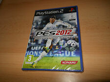 Pro Evolution Soccer PES 2012 Ps2 Game (BRAND NEW) SEALED VERY RARE PS2