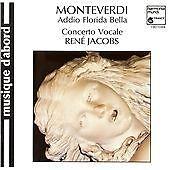 Addio Florida Bella-Madrigals for 3 & 5, Claudio Monteverdi, Good Import