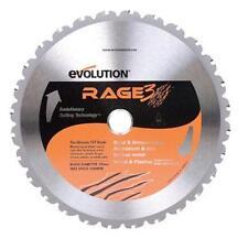 "Evolution Power Tools RAGE255 Rage3 Multi Purpose Saw Blade, 10"""