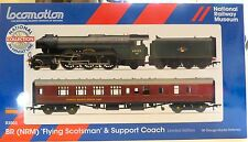 HORNBY / NRM No 430/500 LE R3503 BR FLYING SCOTSMAN & SUPPORT COACH DCC RDY NEW