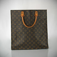LOUIS VUITTON MONOGRAM SAC PLAT GM TOTE/PURSE/HANDBAG! M51140 Great Condition