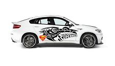 SUPERMAN LOGO AND TRIBAL DESIGN DECAL, VINYL, GRAPHIC FOR SIDE OF CAR
