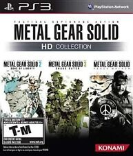 Metal Gear Solid MGS HD Collection PS3 Brand NEW