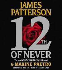 Women's Murder Club: 12th of Never by James Patterson AUDIOBOOK