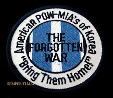 KOREAN WAR HAT PATCH POW-MIA KOREA US ARMY MARINES NAVY AIR FORCE PIN UP GIFT