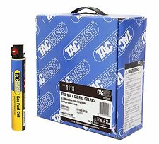 TACWISE PASLODE 50mm GALV NAIL FUEL PACKS FOR IM350 / IM360 NAILERS 3300 NAILS