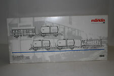 MARKLIN HO SCALE #2846 LUXEMBOURG STATE RAILWAYS TRACK MAINTENANCE TRAIN SET