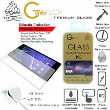 Genuine Gorilla Corning Glass Quality Screen Protector Fo Sony Xperia Z3 Compact
