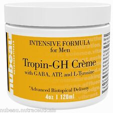 2 Tropin GH: Men Anti-Aging Youth Factor Topical Supplement Support 4 Month Dose
