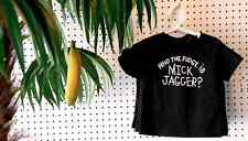 Who the Fudge is Mick Jagger? Kids Tee Shirt