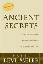 Ancient Secrets: Using the Stories of the Bible to Improve Our Everyda-ExLibrary