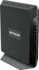 NETGEAR - Nighthawk AC1900 Dual-Band Router with DOCSIS 3.0 Cable Modem - Black