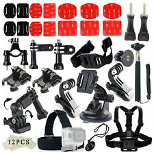 33pc Headset Monopod Car Mount Kits Sports Parts Tool Set For GoPro Hero 1 2 3 4