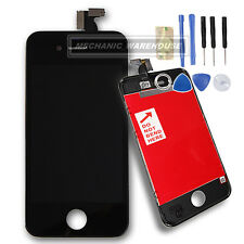 For Apple iPhone 4S LCD Touch Screen Digitizer Display Frame Black Replacement