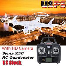 Syma X5C-1 Explorers 2.4G 6Axis Gyro RC Quadcopter Drone RTF HD Camera US Stock