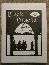 Rare BLACK ORACLE 9 Fall 1975 Baltimore Horror famous universal Monsters Fanzine